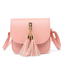 Woman bags handbag Mini SmallFringed Crossbody bag Tassel Messenger Shou... - $24.54
