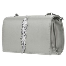 Luxury Bags s Handbags Girl Leather Mini Small Feather Metal Chain Shoul... - $25.03