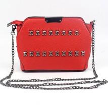 BagMessenger Bags Rivet Chain Shoulder Bag PursePU Leather Crossbody - $27.34