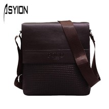 Man Bag PU Leather Mensmessenger bag s Casual Crossbody Shoulder Bag Men... - $33.88