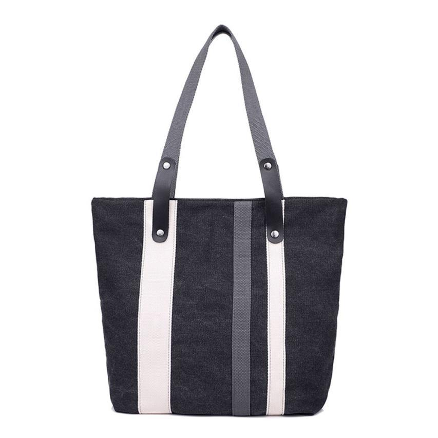 Women tote shoulder bag canvas women beach bag color printing shoulder bag casual bolsa shopping