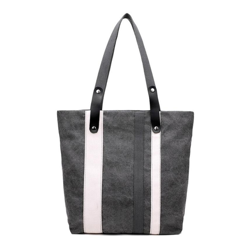 Tote Shoulder Bag CanvasBeach Bag Color Printing Shoulder Bag Casual Bolsa Shopp