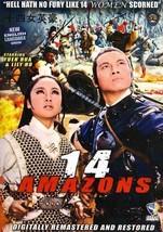 The 14 Amazons chinese Hong Kong kung fu action movie DVD English language - $19.99