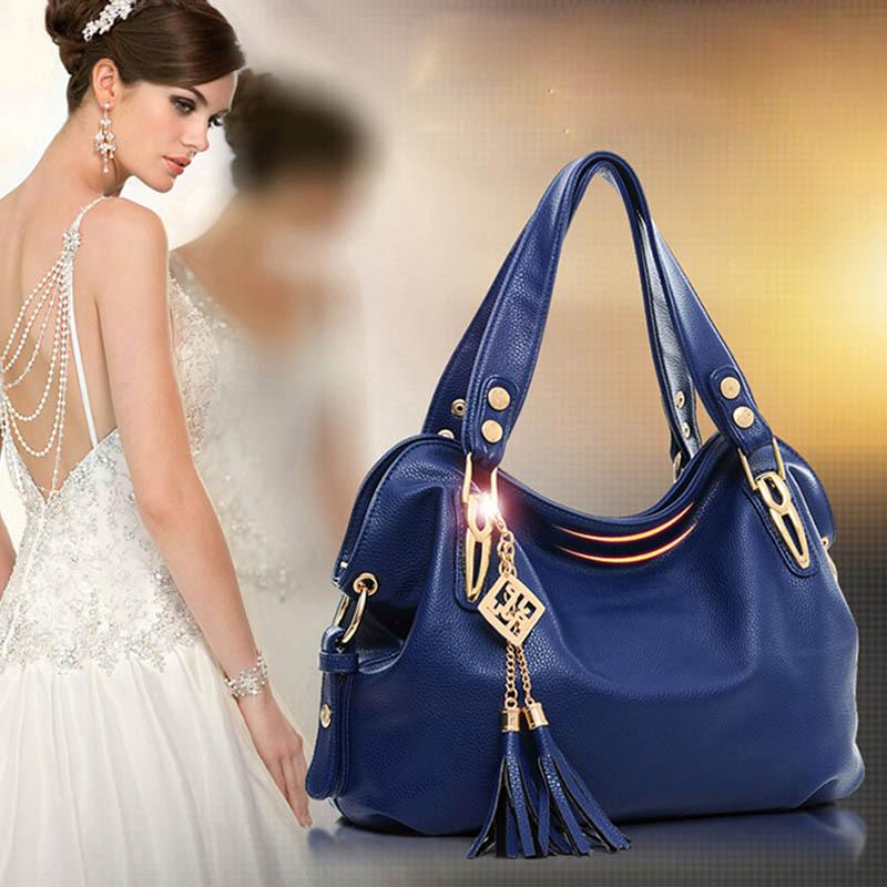 Bolsos luxury ladies bags women pu leather shoulder bag satchel cross body tote handbag 2016 hot