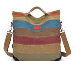 Women shoulder pouch messenger bag women canvas handbag women s handbags patchwork thumb155 crop