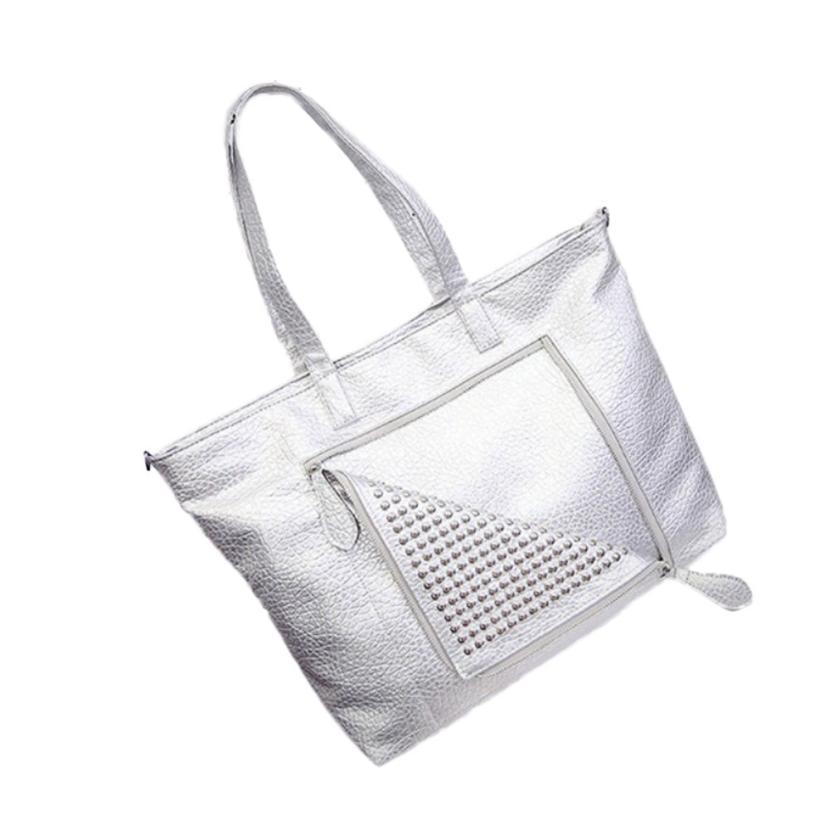Women pu leather handbag fashion tassel messenger bag vintage shoulder bag large top handle bags