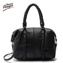 Knitting Leather Bags Handbagss Bag Large ToteT... - $59.50