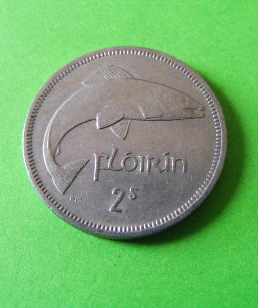 1933 Irish Half Penny Coin Old Ireland Free State Issue Pig Piglets Celtic Harp