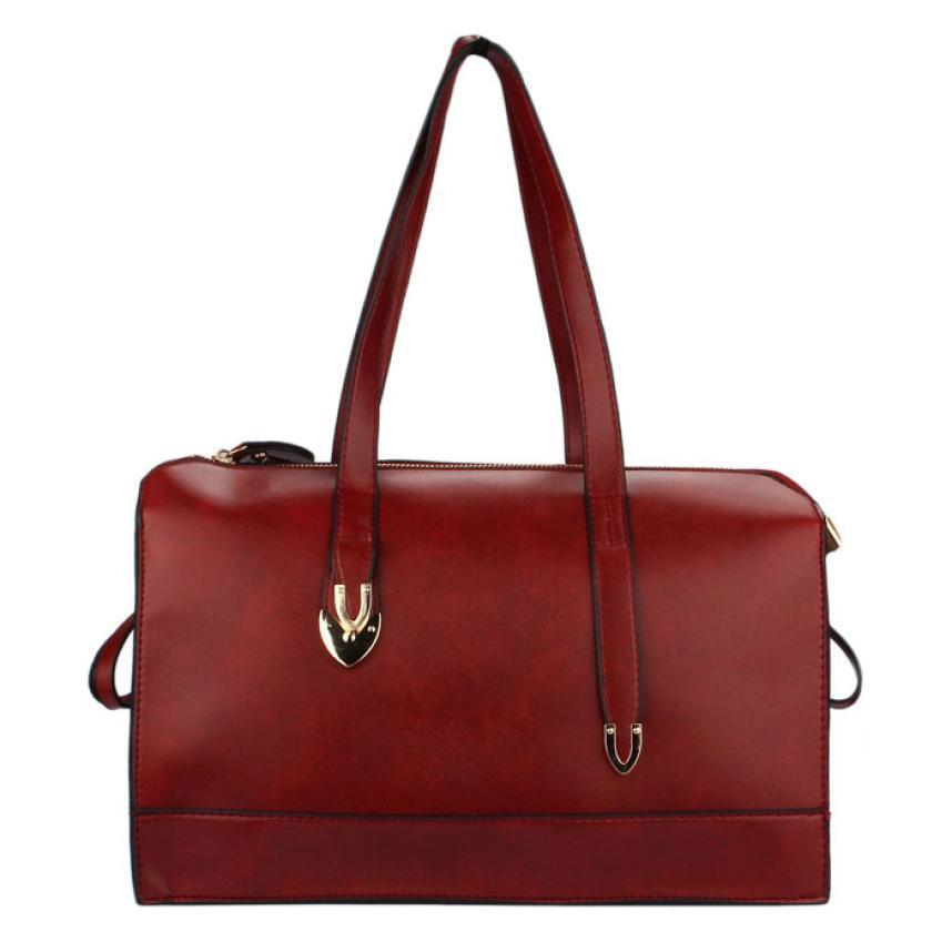 quality bag pu leather ladies brand women shoulder bag fashion leather handbag ladies tote hobo