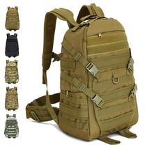 N unisex outdoor military tactical backpack camping hiking bag trekking sport rucksacks thumb200