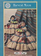 Harvest Moon, Fibre Craft Doll Clothes Crochet Pattern Booklet FCM374 - $5.95