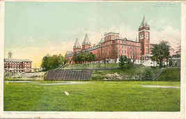 Holy Cross College  vintage Post Card  - $7.00