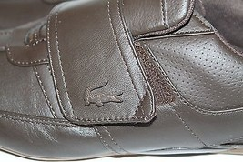 Velcro Shoes Men Lacoste 5 Casual Weight 8 Light Leather NWT Sz Brown q4F8qwI