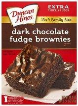 Duncan Hines Brownie Mix, Dark Chocolate Fudge (3 Pack) - $17.81