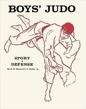 Boys Youth Judo Sport and Self Defense Paperback Hal Sharp CLASSIC! - $20.57