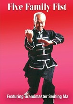 Southern Chinese Five Family Fist Kung Fu #1 DVD Grandmaster Seming Ma - $19.99