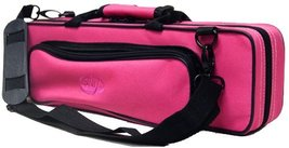 "Sky ""C"" Flute Lightweight Case with Shoulder Strap (Bright Pink) - $31.35"