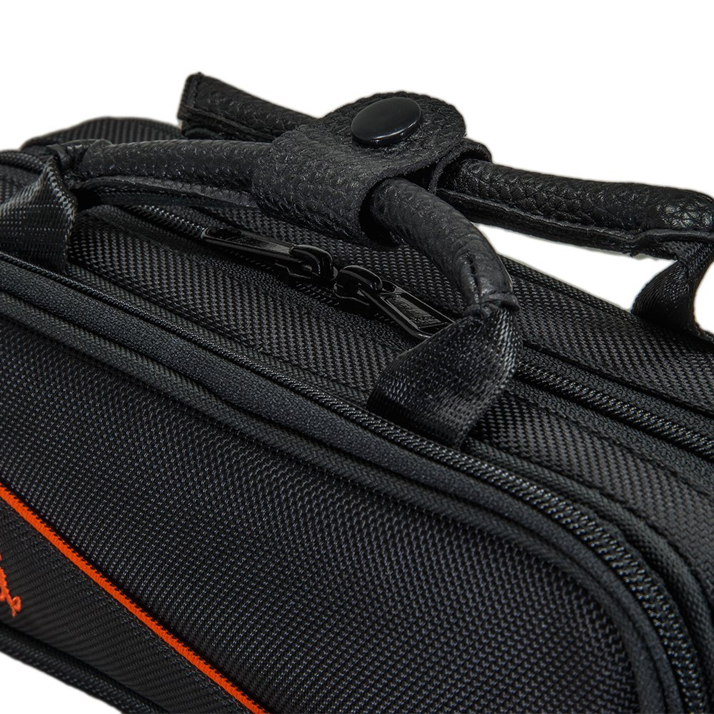 Paititi Lightweight Key of C Piccolo Case, Exterior Packet with Detachable Sh...