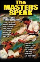 The Karate Masters Speak collection of interviews Paperback Book Don War... - $23.50
