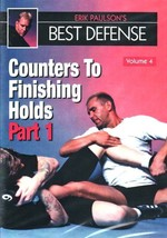 Erik Paulson Best Defense #4 Counters Finishing Holds #1 DVD MMA grappling - $22.00