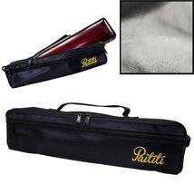 Paititi Brand New C Flute Hard Case Cover w Side Pocket/Handle/Strap Bla... - $82.31