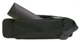 """C"" Flute/Piccolo Combo Case with Shoulder Strap (Black) - $31.35"