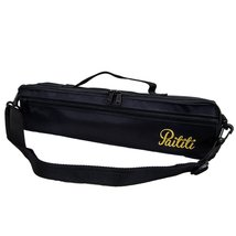 Paititi Brand New C Flute Hard Case Cover w Side Pocket/Handle/Strap Bla... - $19.59