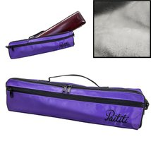 Paititi Brand New C Flute Hard Case Cover w Side Pocket/Handle/Strap Pur... - $84.27