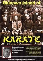 Okinawan Island Of Karate Masters DVD Prof George Alexander funakoshi mo... - $22.00