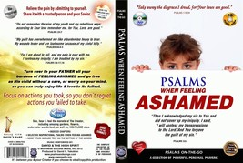 Bible Psalms when Feeling Ashamed & Regret DVD + Audio CD Set uplifting ... - $16.83
