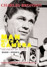 1958 Man With a Camera - Six Faces of Satan TV Season 1 DVD Charles Bronson - $22.00