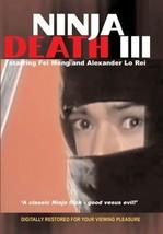 Ninja Death III movie DVD Fei Meng Hong Kong kung fu action - $22.00