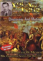 1950s Walter Cronkite You Are There TV Discovery & Mutiny DVD conquest o... - $22.00