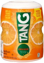 Tang Orange Powdered Drink Mix (Makes 6 Quarts), 20-ounce Canister (2-pack) - $13.85