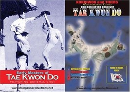 Early Masters Tae Kwon Do Karate & Gen Choi Hong Hi by Bob Wall 2 DVD Set - $42.08