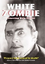 White Zombie DVD Bela Lugosi 1932 B/W horror movie classic digitally res... - $22.00