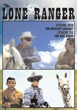 Lone Ranger Vol. 3 DVD TV Episode #5 Rustler's Hideout, #6 War Horse - $22.00