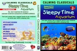 Children Calming Lullabies Sleepy Time Aquarium wonderland #2 DVD + Audi... - $16.83