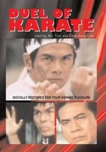 Duel of Karate movie DVD martial arts action - $22.00