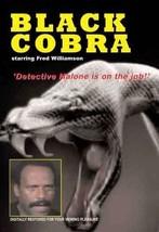 Black Cobra movie DVD Fred Williamson black action - $22.00
