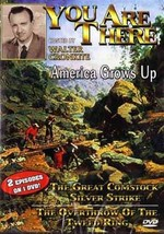 1950s Walter Cronkite You Are There TV America Grows Up DVD Comstock Silver - $22.00