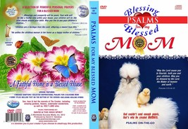 Bible Psalms for My Blessed Mom love angel DVD + Audio CD Set uplifting ... - $16.83