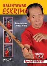 3 DVD SET Balintawak Eskrima #1 #2 #3 Filipino Martial Arts - GM Ising A... - $65.27