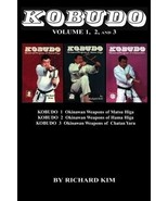 Kobudo #1 #2 #3 Okinawan Weapons Sai Kama Tonfa Paperback Book Richard Kim - $28.00