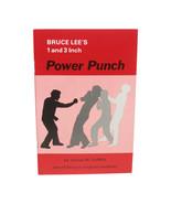 Bruce Lee 1 & 3 Inch Secret Power Punch Book Jeet Kune Do RARE! James De... - $14.50