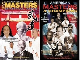 Japanese Okinawan American Martial Arts Masters 2 DVD Set Karate shotokan - $46.71