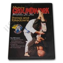 Mastering Groundwork Lira Brazilian Japan Jiu Jitsu 20 THROWS & TAKEDOWN... - $19.99