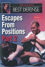 Erik Paulson Best Defense #3 Escapes from Positions #2 DVD MMA grappling... - $22.00