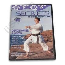 Secrets Champion Karate Conditioning Speed Training DVD Elisa Au women g... - $22.00