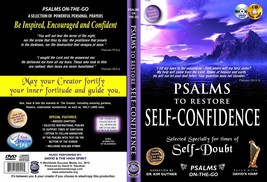 Bible Psalms to Restore Self Confidence DVD+ Audio CD Set uplifting prayers - $16.83